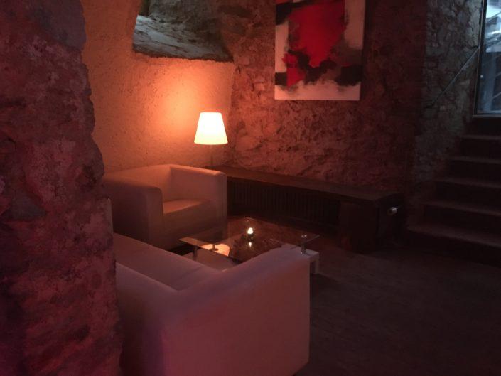 Lounge-Ecke Hellhof Kronberg